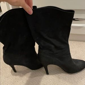 Stella McCartney suede heeled boots